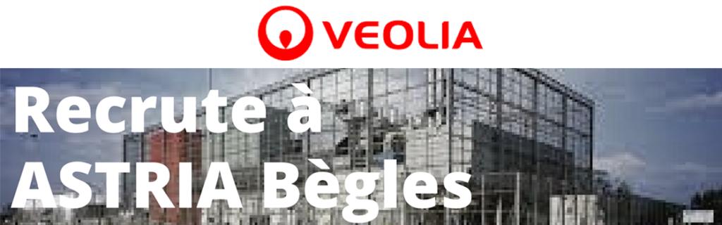VEOLIA recrute à Bègles